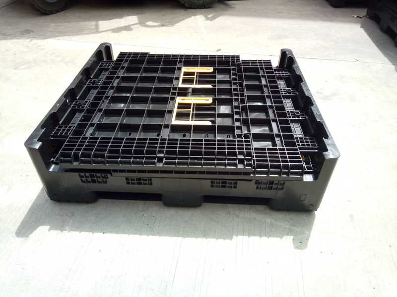 collapsible plastic pallet box fast supplier